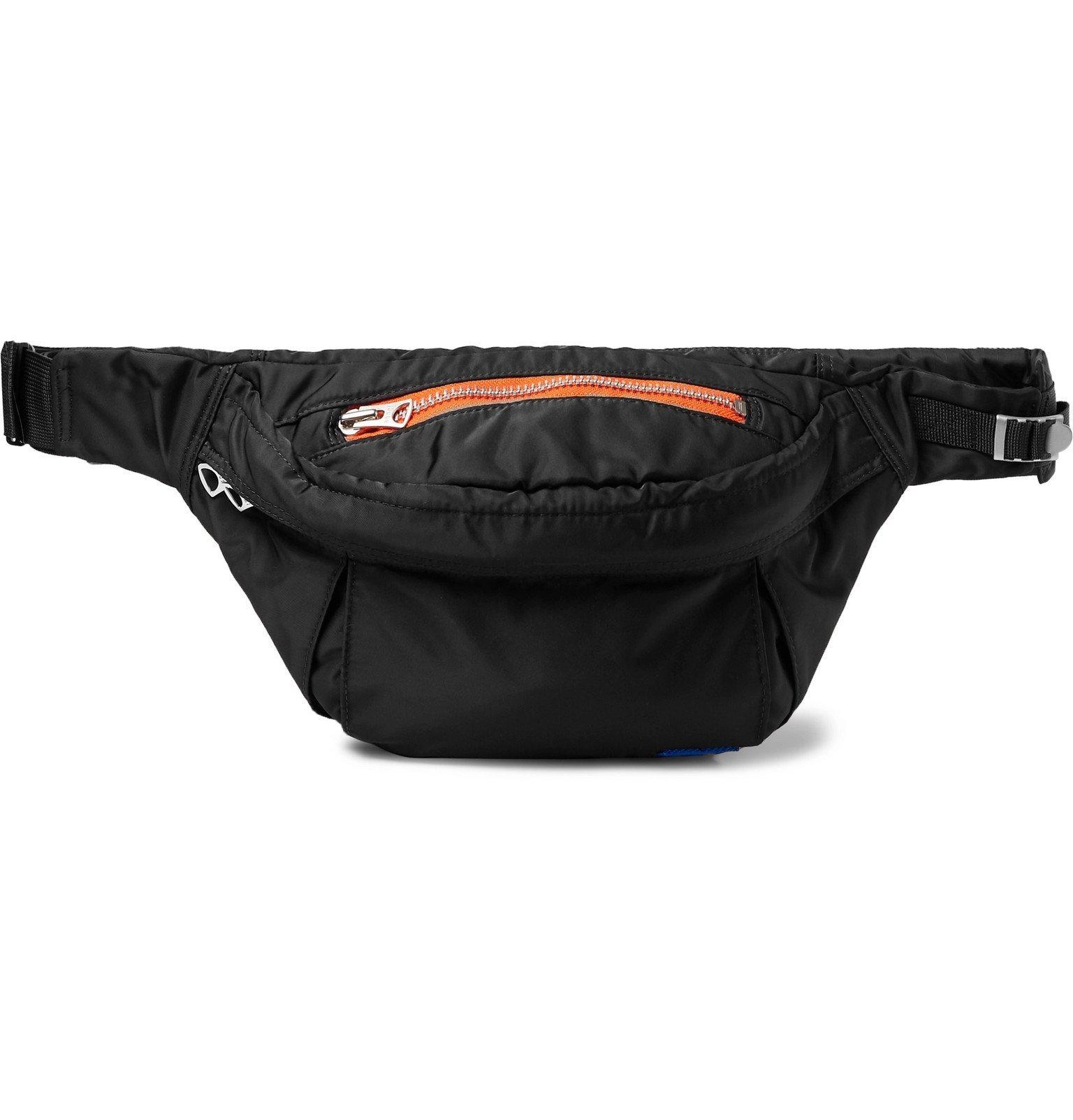 Sacai - Porter Nylon Belt Bag - Black