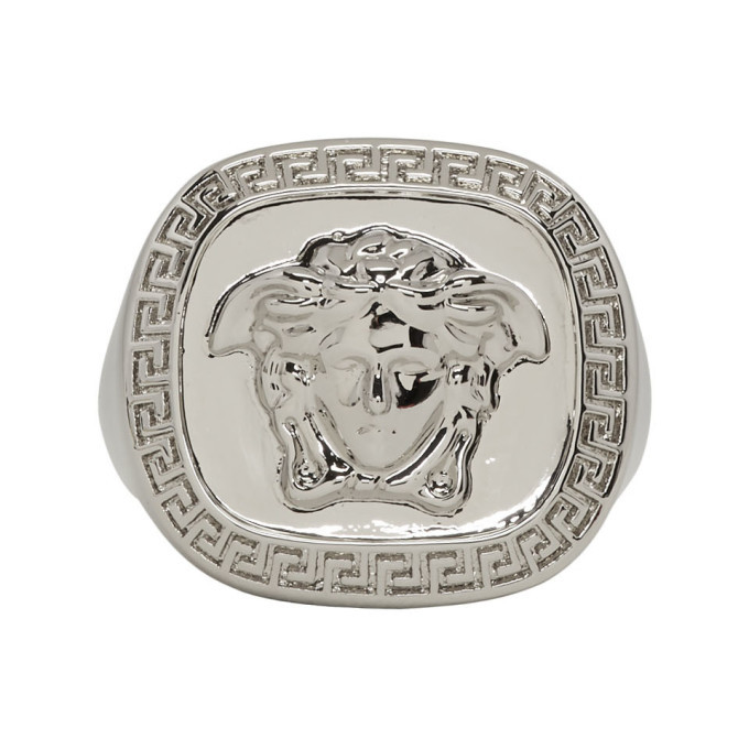 Photo: Versace Silver Medusa Ring