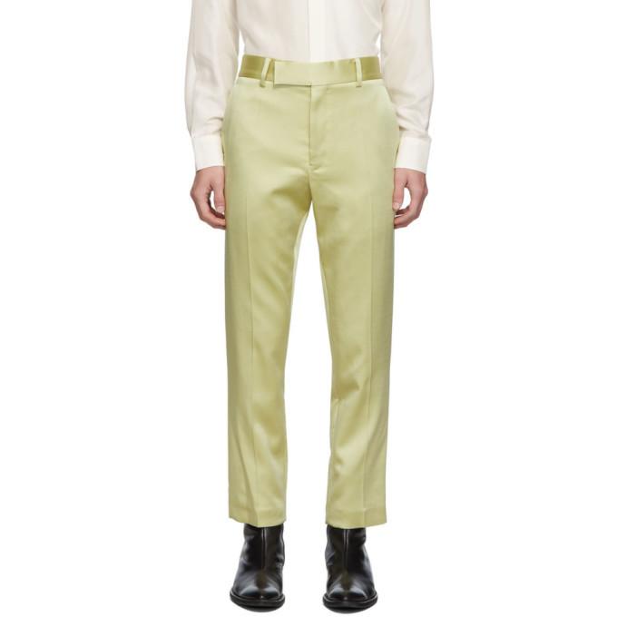 Photo: Haider Ackermann Yellow Classic Trousers