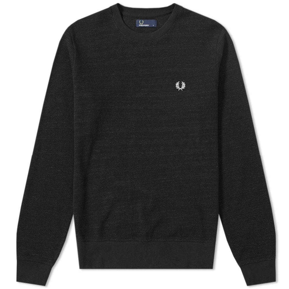 Photo: Fred Perry Pique Texture Sweat