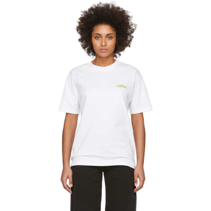 Photo: 032c White Smiley T-Shirt