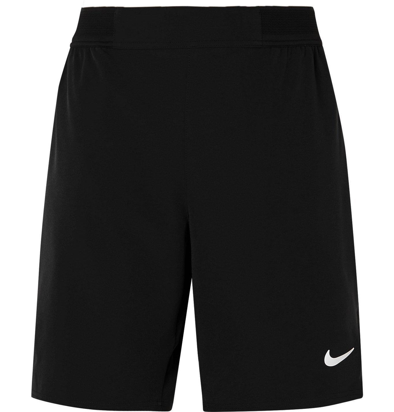 Photo: Nike Tennis - NikeCourt Ace Flex Tennis Shorts - Black