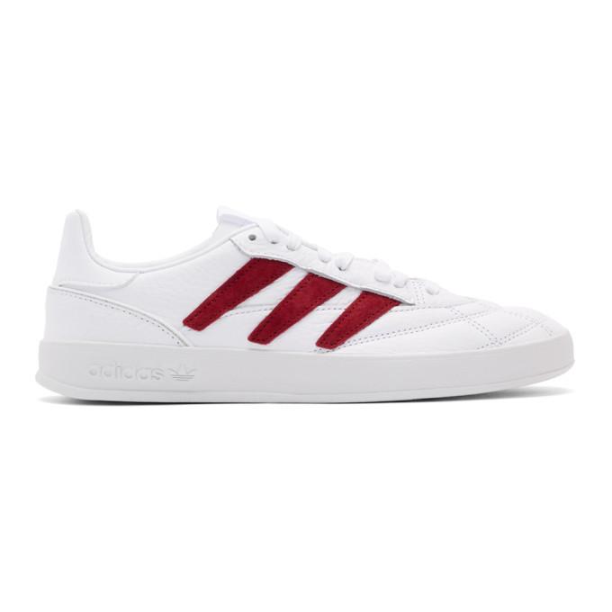 Photo: adidas Originals White Sobakov P94 Sneakers