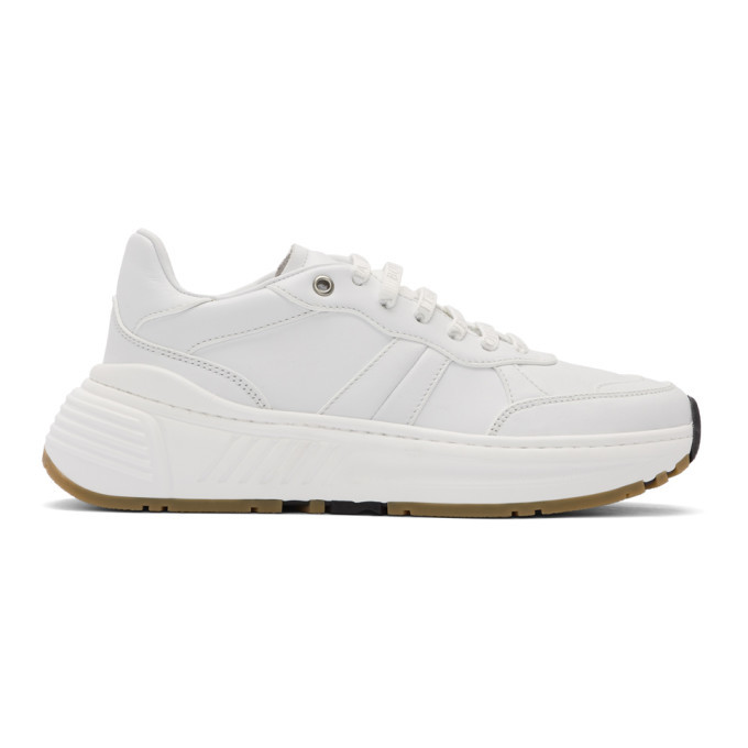 Photo: Bottega Veneta White Speedster Sneakers