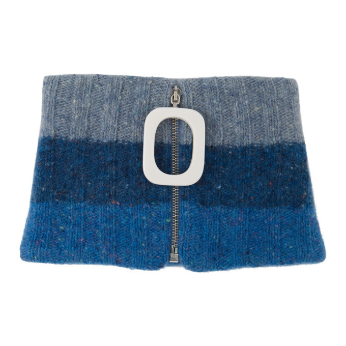 Photo: JW Anderson Blue Chunky Neck Band