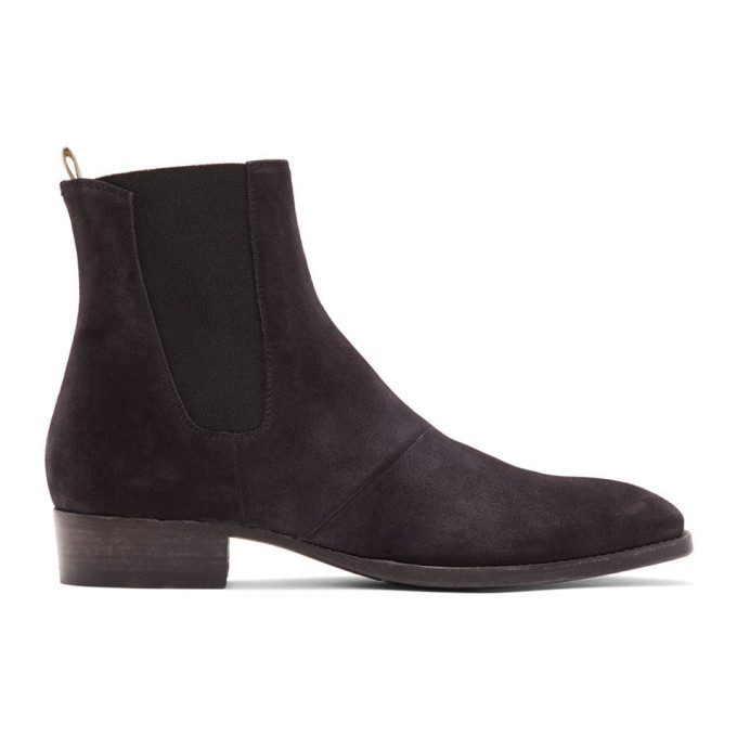 Photo: Officine Creative Black Sean 3 Chelsea Boots