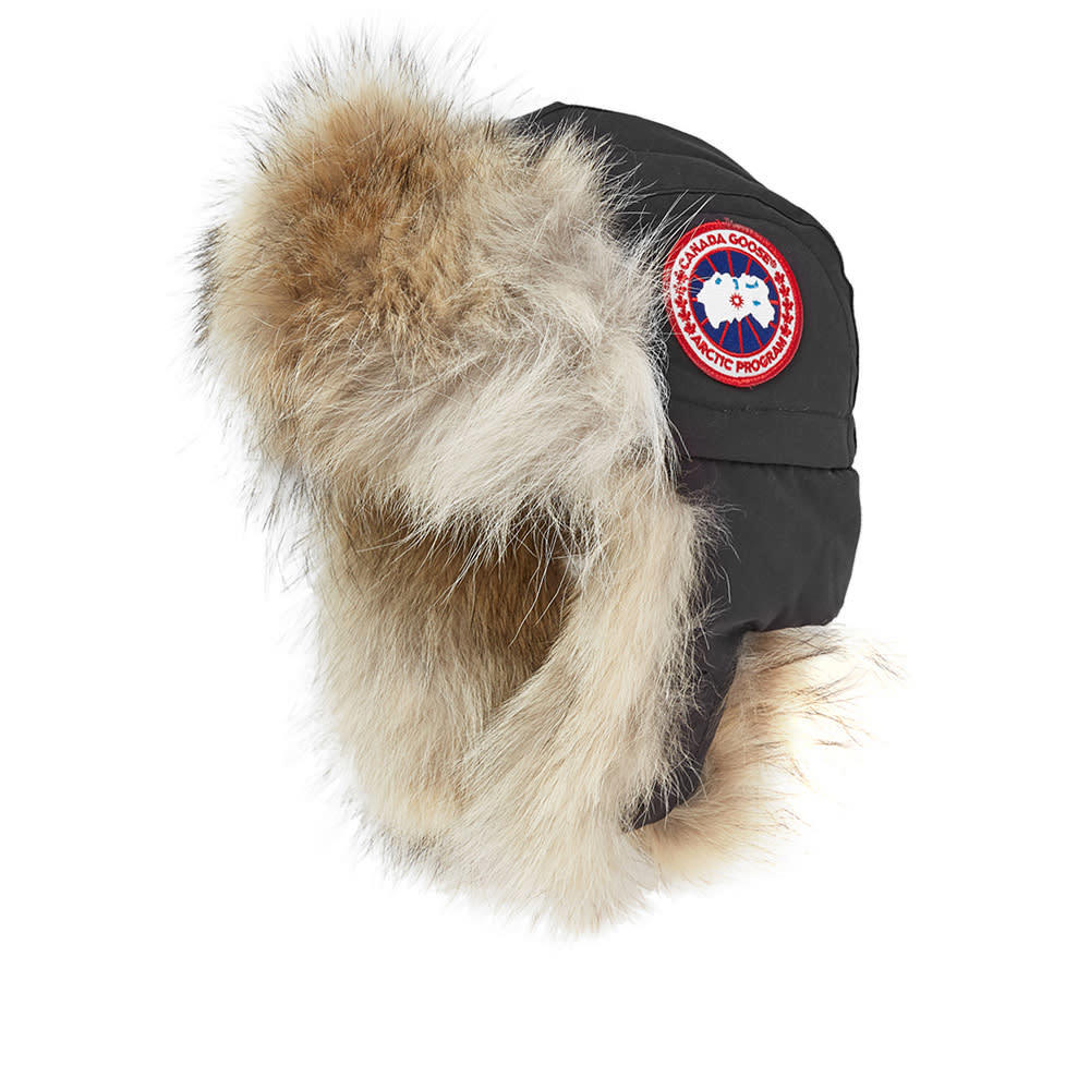 canada goose aviator hat graphite