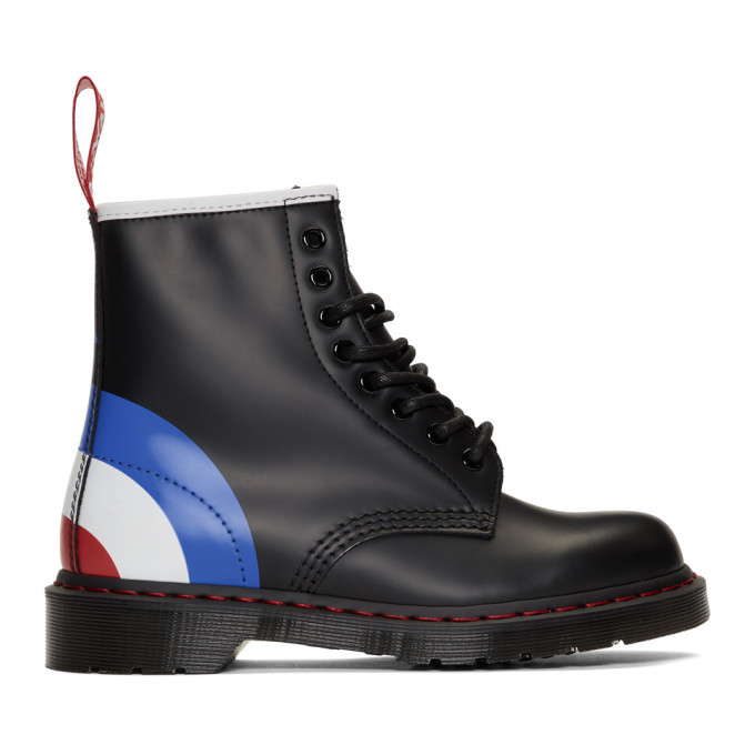 Photo: Dr. Martens Black The Who Edition 1460 Lace-Up Boots