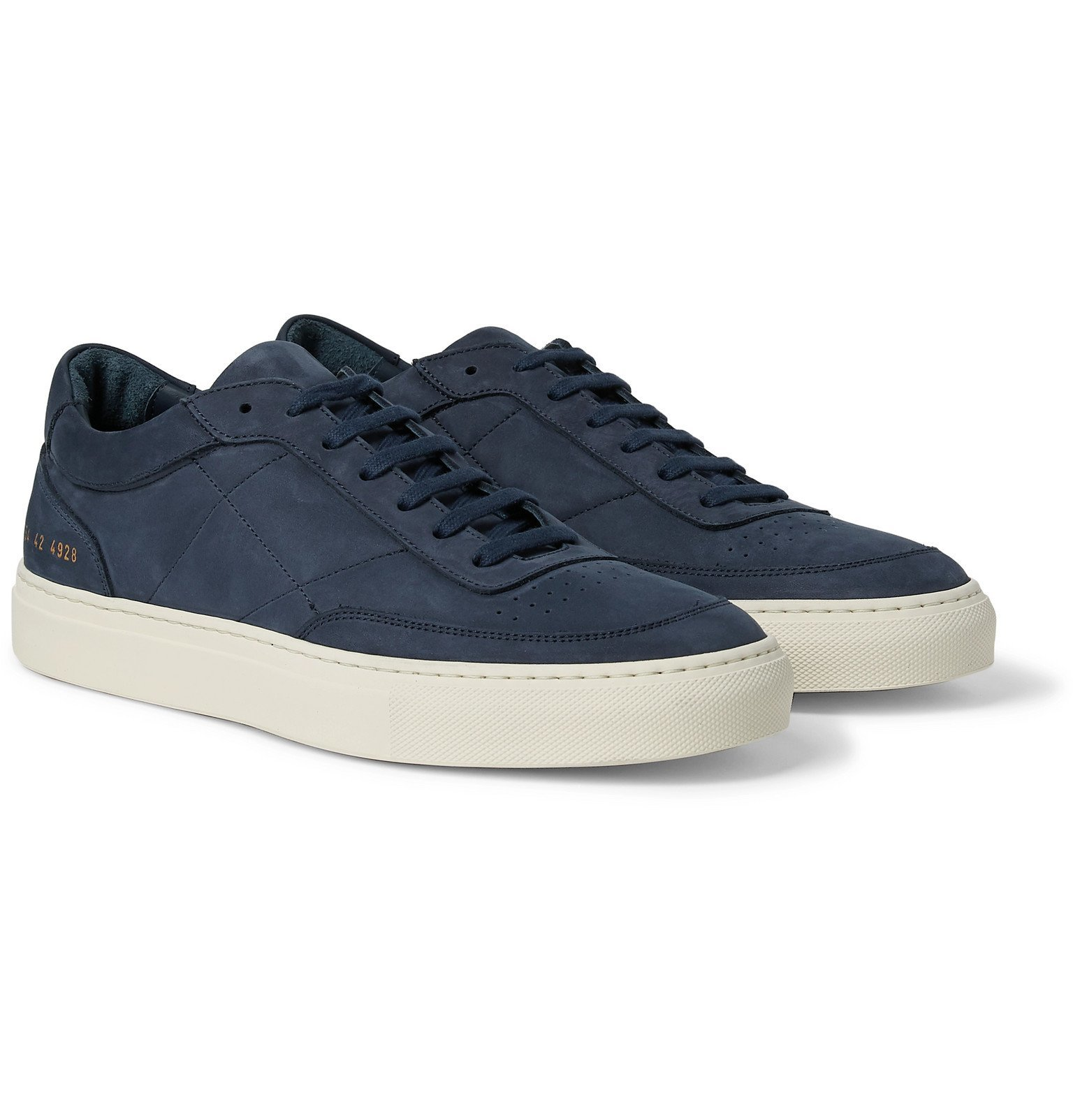 Photo: Common Projects - Resort Classic Nubuck Sneakers - Blue
