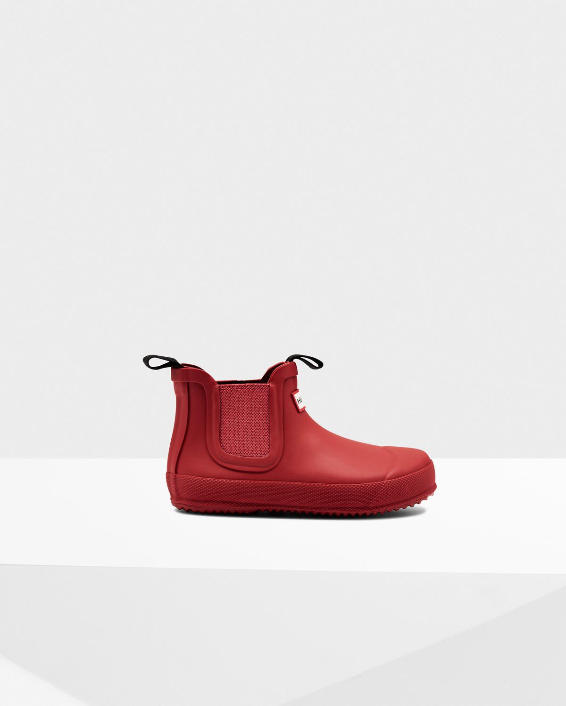 Photo: Originallittle Kids' Flat Sole Chelsea Boots