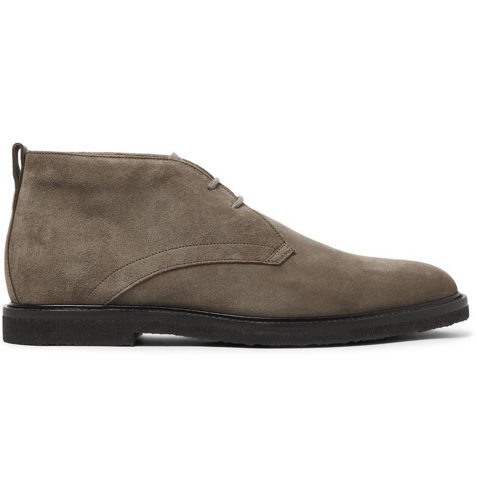 Tod's - Suede Desert Boots - Taupe