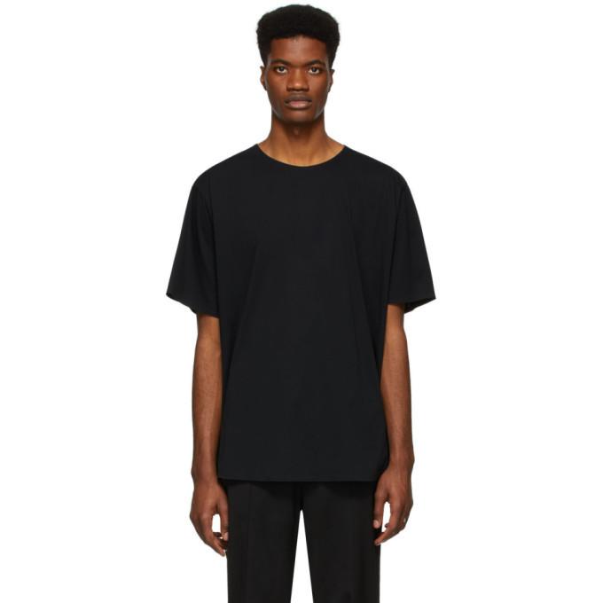 Photo: Y-3 Black Craft Bonded Edge T-Shirt