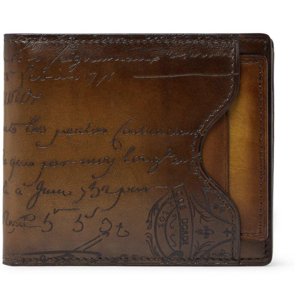 Photo: Berluti - Makore Leather Billfold Wallet - Brown