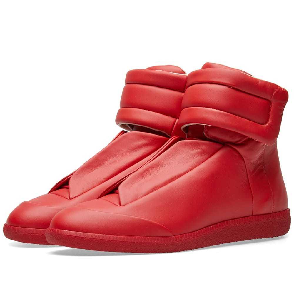 Tonal Sneaker Red Maison Margiela