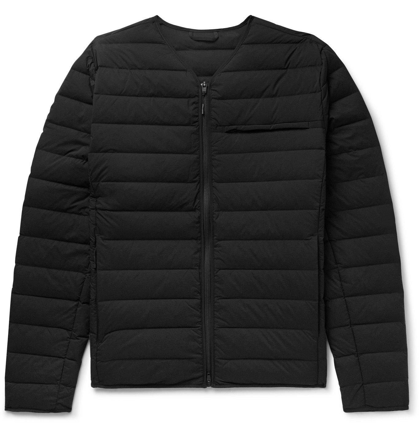 Photo: Y-3 - Logo-Print Quilted Nylon-Blend Down Jacket - Black