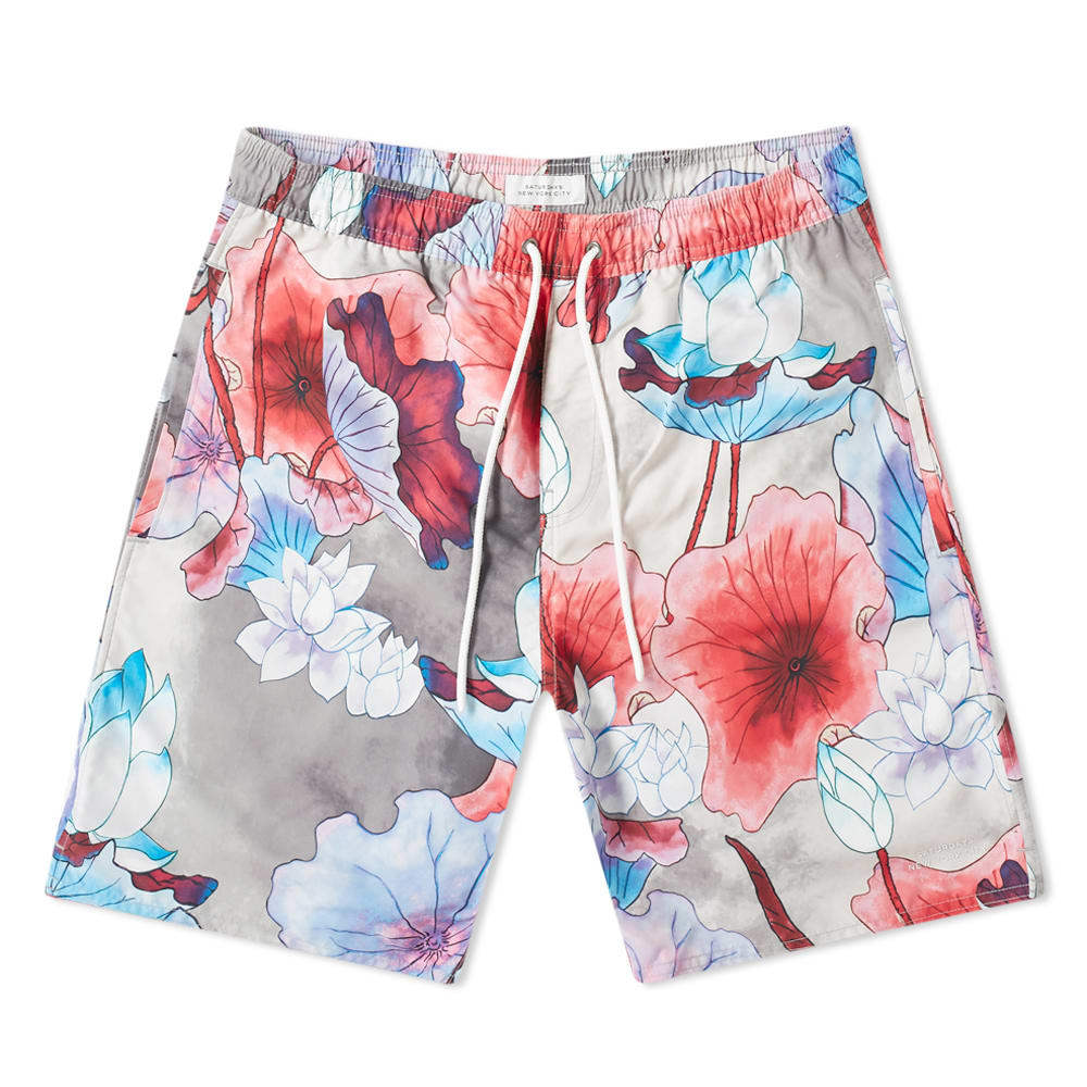 Photo: Saturdays NYC Timothy Vivid Lotus Swim Short