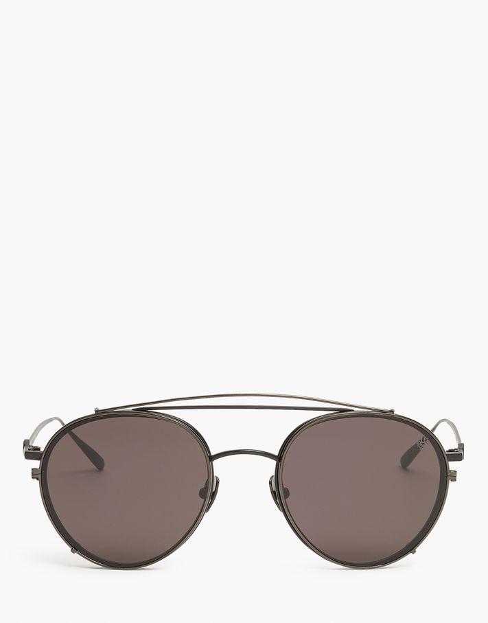 Belstaff Jagged Round Sunglasses Black