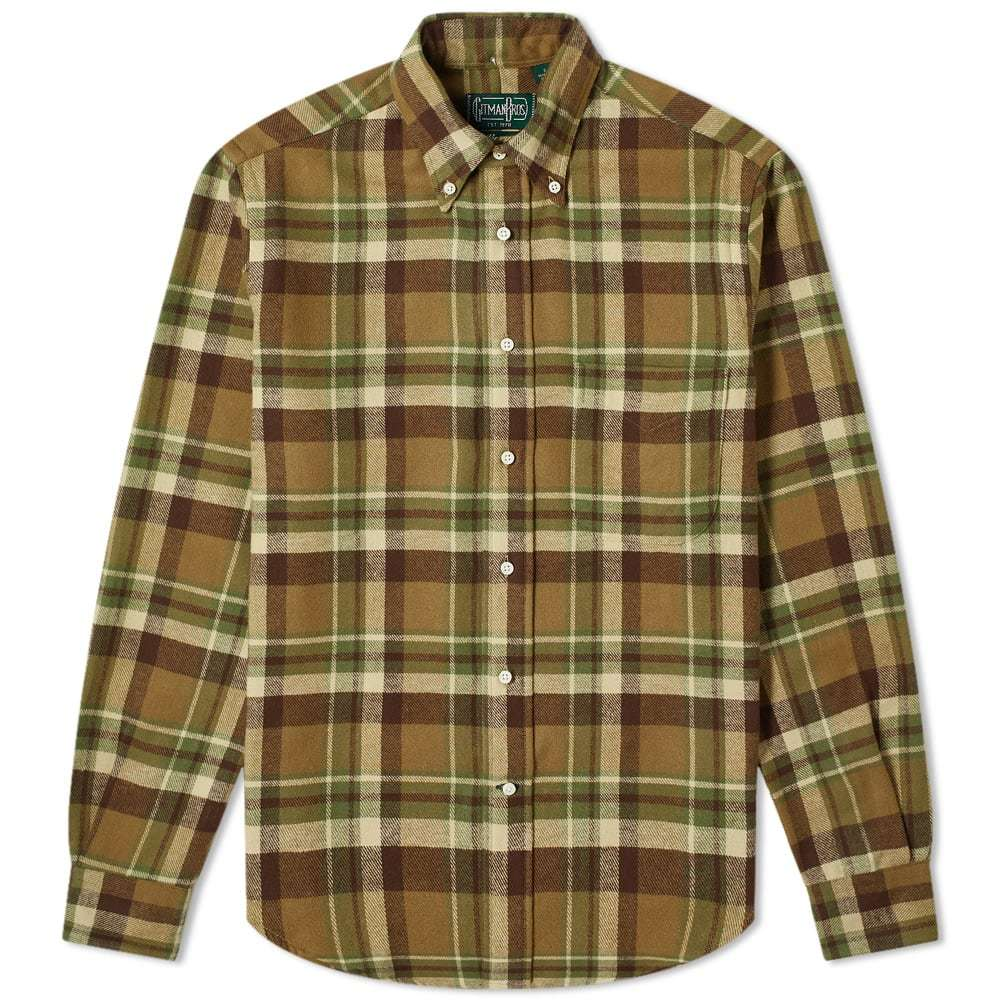 Photo: Gitman Vintage Button Down Country Plaid Shirt