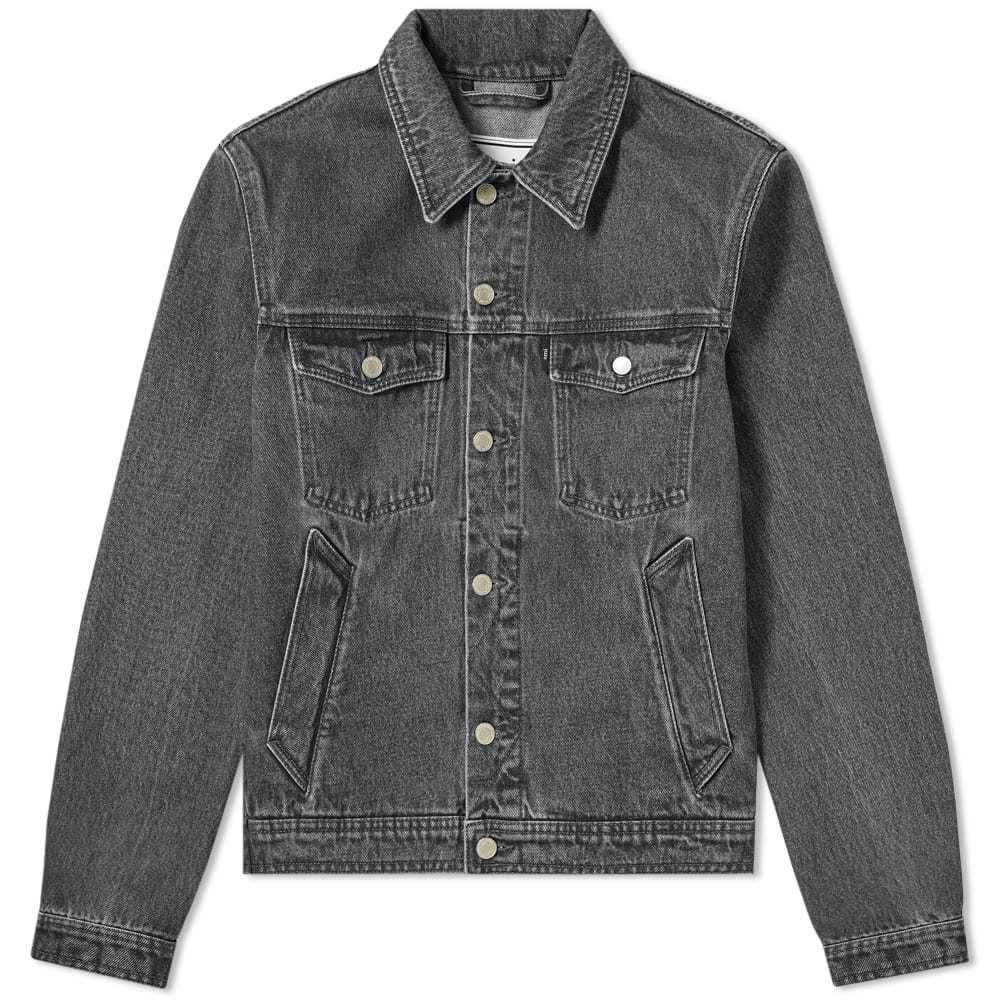 Photo: AMI Denim Jacket Black