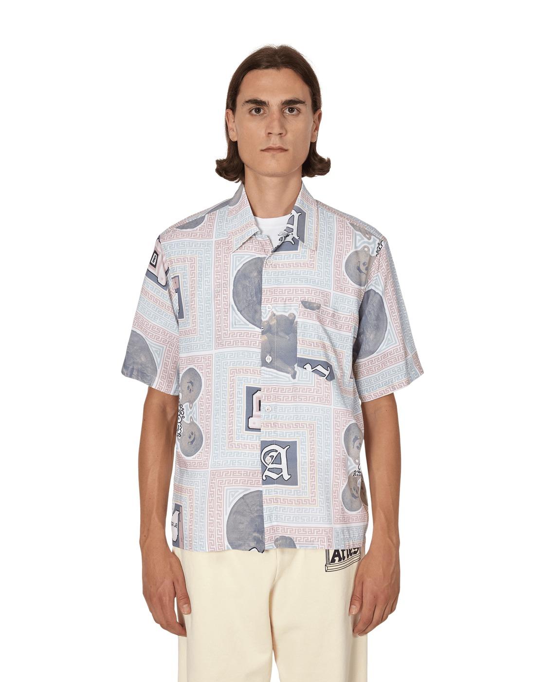Aries Scarf Hawaiian Shortsleeve Shirt Multi