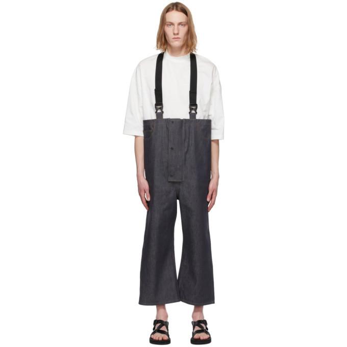 Photo: Sasquatchfabrix. Indigo Three-Layer Overall Jeans