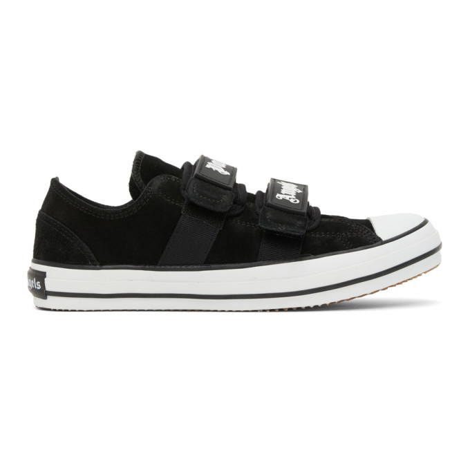 Photo: Palm Angels Black Vulcanized Sneakers