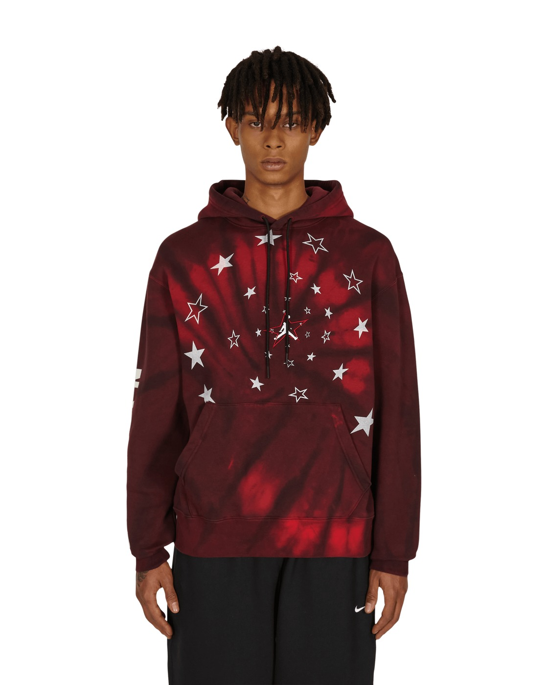 Nike Jordan Legacy Aj6 Hooded Sweatshirt Black/Gym Red