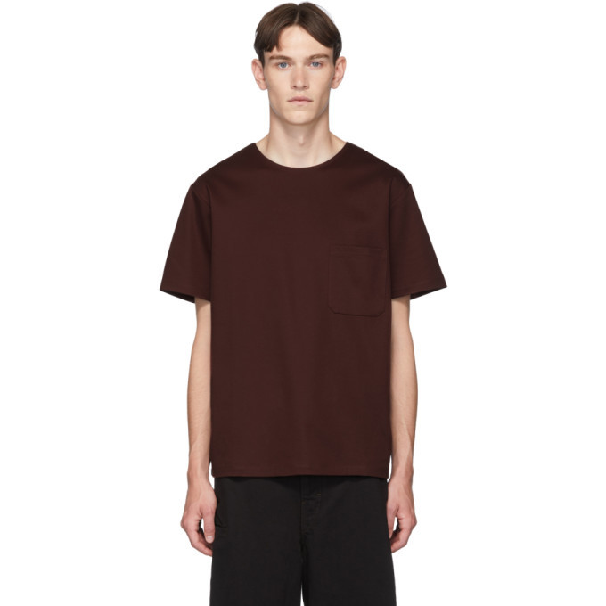 Photo: Lemaire Brown Mercerized T-Shirt