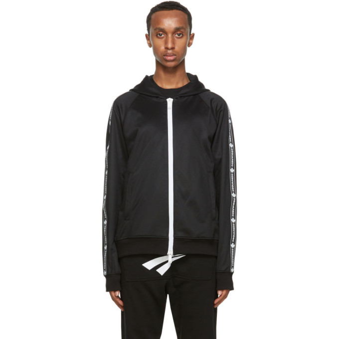 Photo: Dsquared2 Black Technical Track Jacket
