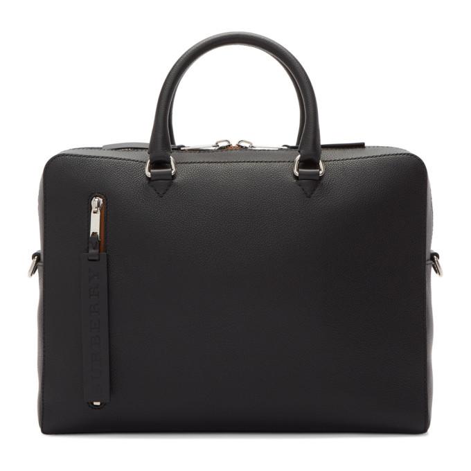Photo: Burberry Black Ainsworth Briefcase