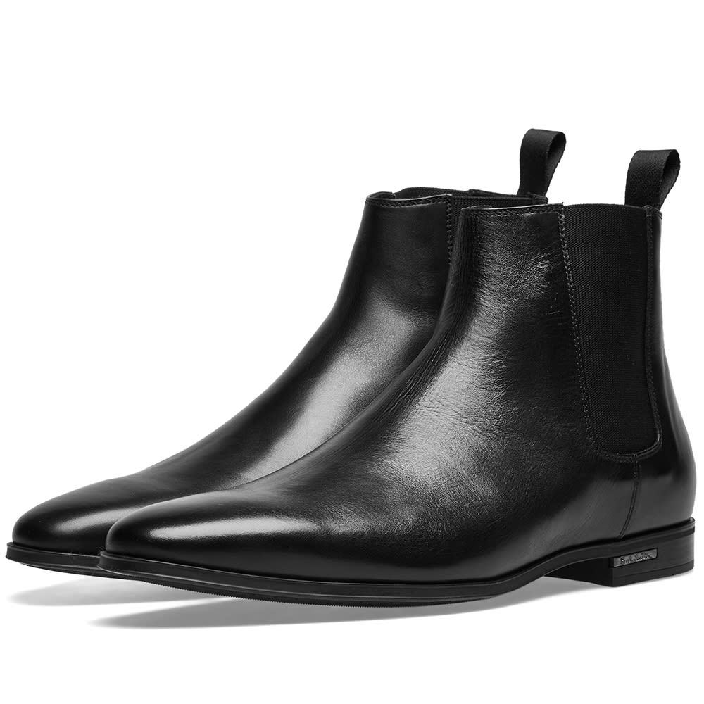 Photo: Paul Smith Hamilton Chelsea Boot Black Leather