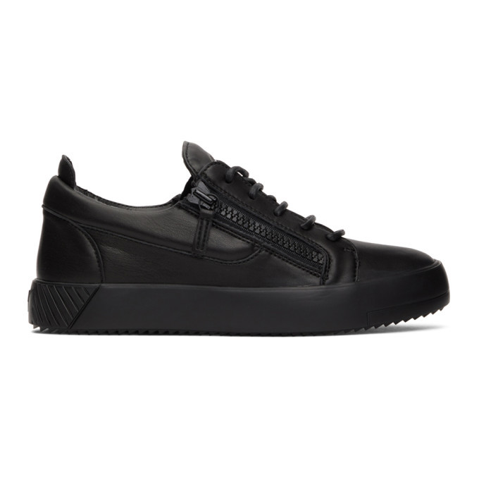 Photo: Giuseppe Zanotti Black May Traze Sneakers