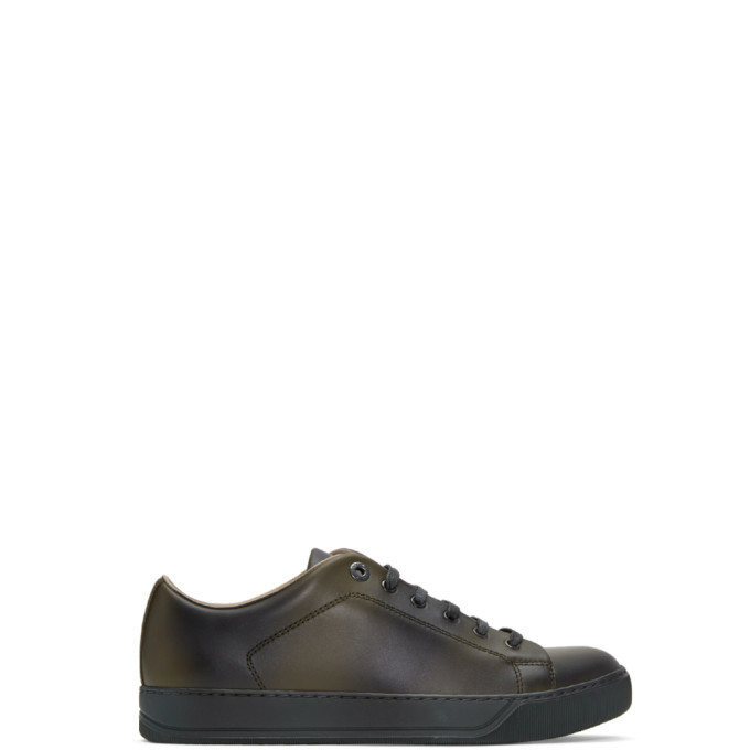 Photo: Lanvin Green Leather Sneakers