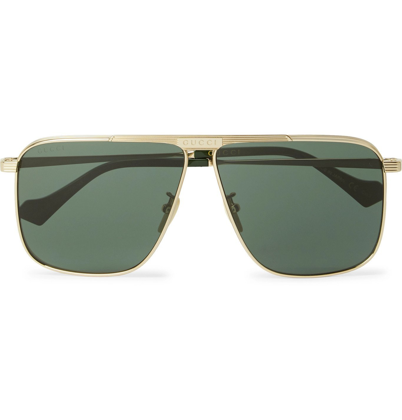 Photo: Gucci - D-Frame Gold-Tone Sunglasses - Gold
