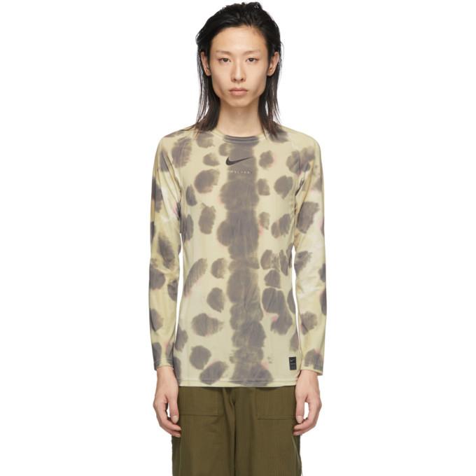 1017 ALYX 9SM Multicolor Nike Edition Camo Transfer Long Sleeve T-Shirt