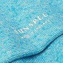 Sunspel - Mélange Organic Cotton-Blend Socks - Blue