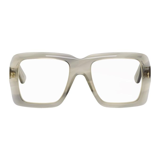 Photo: Gucci Grey Bold Glasses