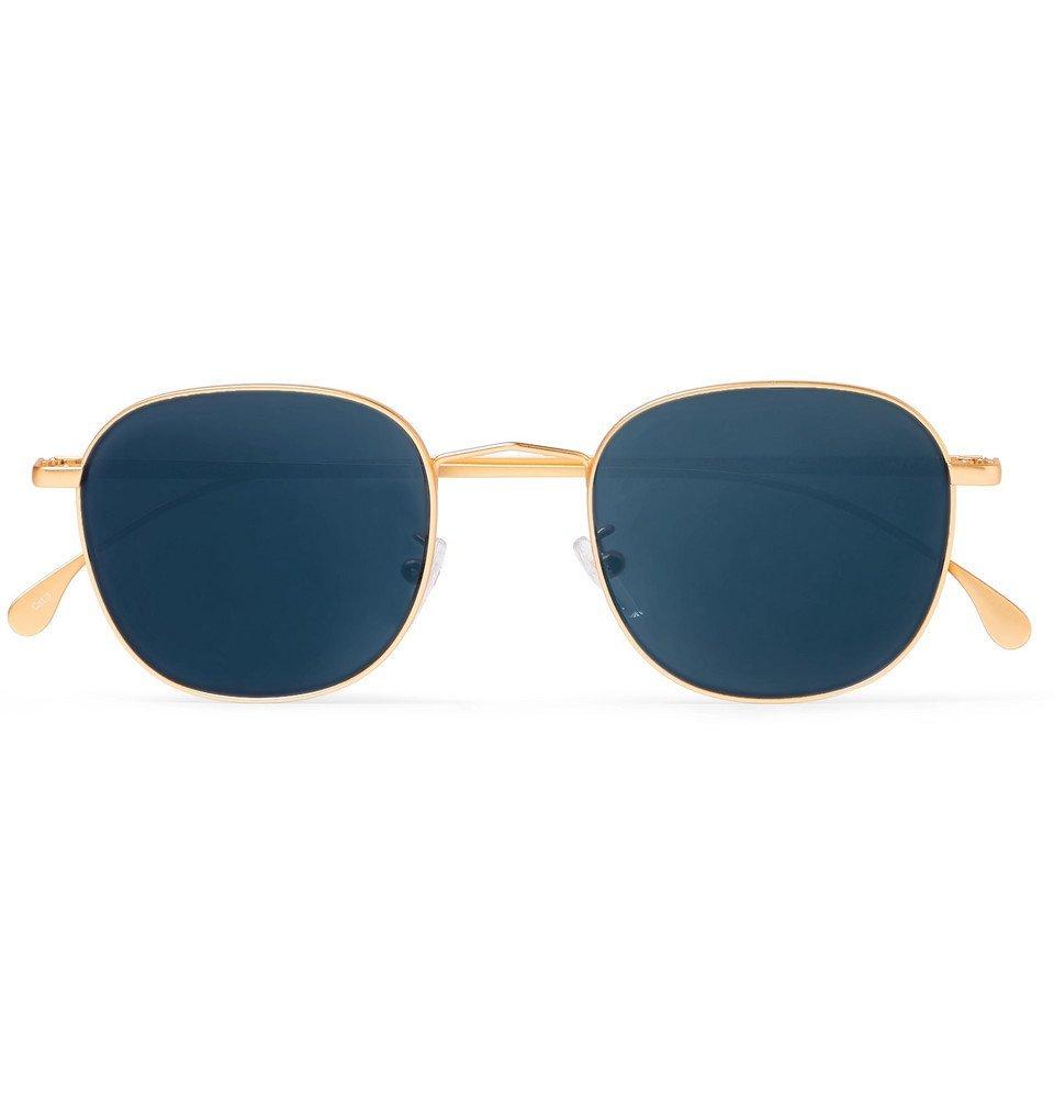 Photo: Paul Smith - Round Gold-Tone Sunglasses - Gold
