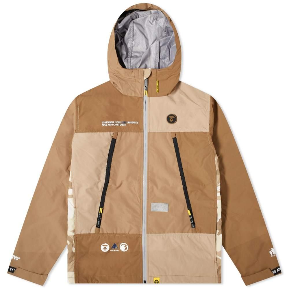 Photo: AAPE Camo Panel Shell Jacket
