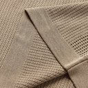 Dunhill - Tussah Silk-Mesh Polo Shirt - Beige