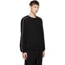 3.1 Phillip Lim Black Panelled Sweatshirt