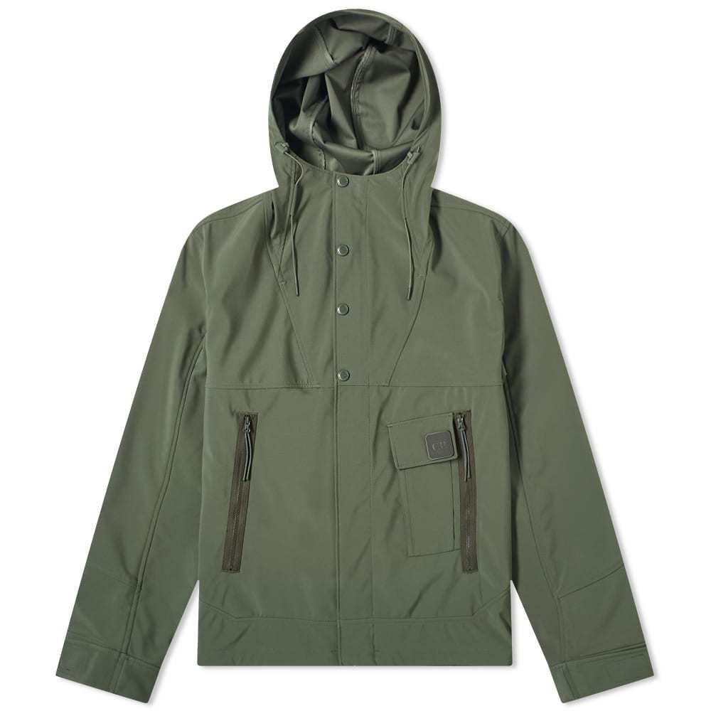 Photo: C.P. Company Metropolis Button Quarterzip Soft Shell Jacket