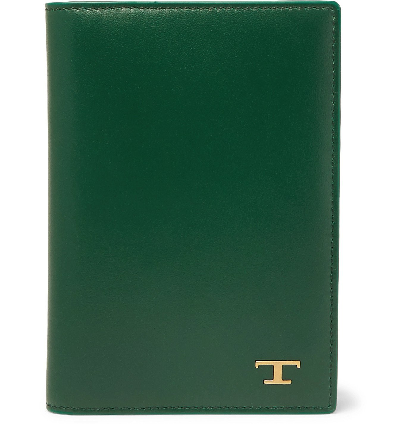 Photo: Tod's - Leather Bifold Cardholder - Green