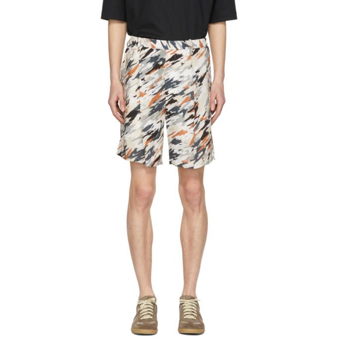 Photo: Lemaire Multicolor Print Elasticized Shorts