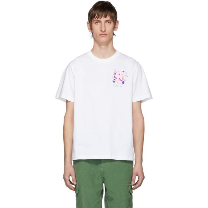 Photo: Carne Bollente White Adam In Eve T-Shirt
