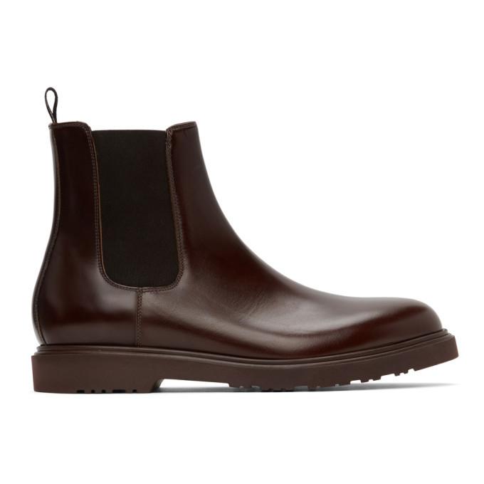 Photo: Paul Smith Burgundy Lambert Chelsea Boots