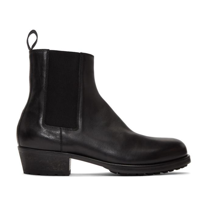 Photo: Haider Ackermann Black Chelsea Boots