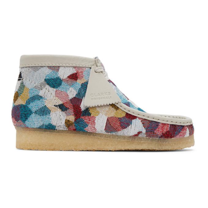 Photo: Clarks Originals Multicolor Wallabee Desert Boots