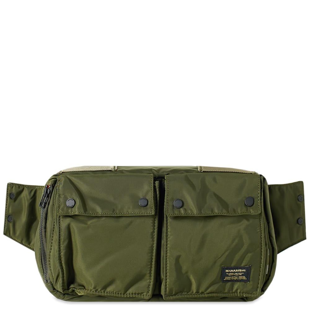 Photo: Maharishi Nylon Travel Waist Bag