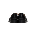 Martine Rose Black Leather Loafers
